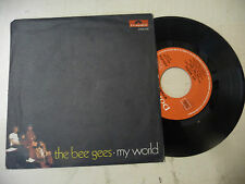 "THE BEE GEES"" MY WORLD- disco 45 giri POLYDOR italy 1971""PERFETTO"