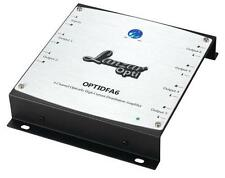 New Lanzar OPTIDFA6 6-Channel RCA Optically High Current Distribution Amplifier