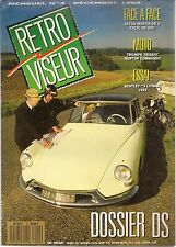 RETROVISEUR 4 DOSSIER CITROEN DS FACEL VEGA HK500 ASTON MARTIN DB4 BENTLEY 3L 22
