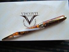 "Visconti Opera Elements amber honey ""Air"" ballpoint pen MIB"