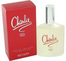 CHARLIE RED * Revlon Perfume for Women * eau de toilette * 3.4 oz * NEW IN BOX
