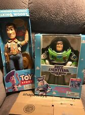 Toy Story Buzz Lighter & Woody Original 1995 Action Figure/Doll
