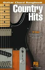 Guitar Chord Songbook Country Hits Learn to Play LYRICS GUITAR CHORDS Music Book