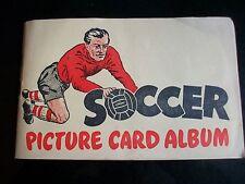 Los equipos de fútbol fútbol no serie 1 1956 Conjunto de 48 por fútbol Bubble Gum