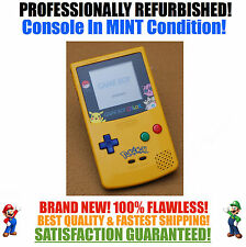*NEW SCREEN* Nintendo Game Boy Color GBC Limited Edition Pokemon System MINT NEW