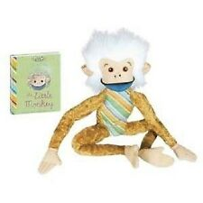 "Little Monkey 11"" with Book  plush NEW by YoTToY"