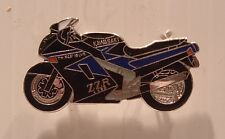 VERY UNUSUAL KAWASAKI ZZR1100 ZZR 1100 PIN BADGE 41 VERY LIMITED STOCK