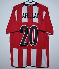 PSV Eindhoven Holland home shirt 08/10 #20 Afellay Nike