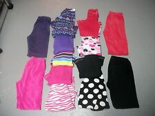 JUMPING BEANS HUGE 13 PC FALL LOT THERMAL TOPS VELOUR LEGGINGS SETS GIRL SZ 6X 7