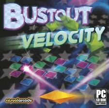 Bustout Velocity  Classic Action & Incredible Graphics  Win 7 8 Vista XP NEW