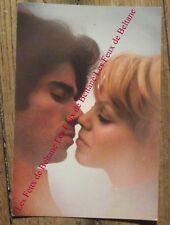 Carte postale vintage,seventies,couple homme femme amoureux  CPSM