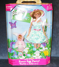 1999 Mattel Barbie & Kelly Easter Egg Party RARE COLLECTOR SET (NRFB) MINT CON
