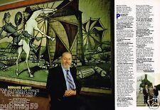 Coupure de Presse Clipping 1989 (2 pages) Bernard Buffet