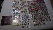 job lot 13 packs of christmas penguin pop up 3d stickers cards & tags