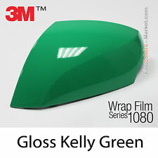 10x20cm FILM Gloss Kelly Green 3M 1080 G46 Vinyle COVERING Car Wrapping