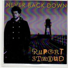 (ER50) Rupert Stroud, Never Back Down - DJ CD