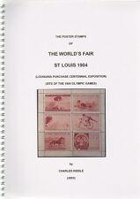 (i. b-ck) cendrillon catalogue: poster stamps: st louis foire mondiale (1904)