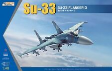 Kinetic 1/48 K-48062 Russia Su-33 Flanker D All-Weather Carrier-Based Fighter