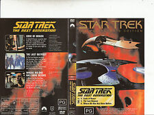 Star Trek:The Next Generations:TNG 2-1987/94-TV Series USA-3 Episodes-DVD