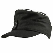 MILITARY WWII GERMAN WH ELITE WOOL OFFICER M43 PANZER FIELD CAP L