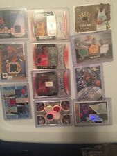 AUTOGRAPH & JERSEY PATCH AUTO BASKETBALL GRAB BAG CARD LOT RC/ #d CARDS HOT PACK