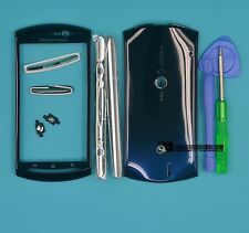 for Sony Ericsson Xperia Neo V MT11i MT15i Blue Housing Cover Case+Tools