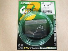 Honda CR125 CR250 XR75 Elsinore  New Fuel Line GREEN Rare Vintage 4mm x 7mm x 1m