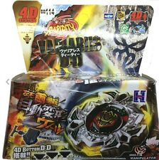 VARIARES BEYBLADE 4D TOP METAL FUSION FIGHT MASTER NEW + LAUNCHER USA SELLER