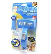 PET ZOOM NUOVO CANE GATTO SPOSO Self PULIZIA GROOMING Brush TRIMMER attaccamento