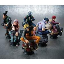 6Pcs Anime Naruto Uzumaki Kakashi Gaara PVC Figure Toy Model Set Collection Gifa