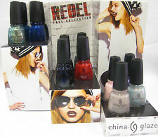 China Glaze Rebel Fall 2016 Collection Full 12 pcs On Sale!
