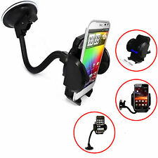 Flexi PARABREZZA Car Holder Cradle Mount per Apple iPhone, 7 5 5C 5S 6 6S PLUS