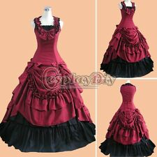 Custom Made Civil War Ball Gown Southern Belle Dress Cosplay Costume Carnival