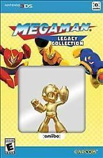Mega Man Legacy Collection Collector's Edition Nintendo 3DS 2016 GOLD Amiibo NEW