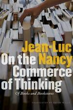 On the Commerce of Thinking: Of Books and Bookstores, Jean-Luc Nancy