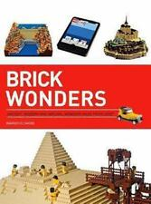 NEW - Brick Wonders: Ancient, Modern, and Natural Wonders Made from LEGO