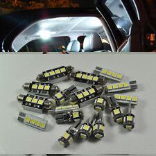 White Full 10 led Interior lights Set kit for Bmw E38 740i/750i Error Free