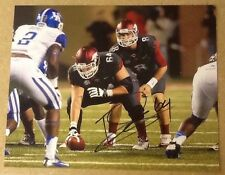 Travis Swanson Signed 8x10 Football Photo Arkansas  W/ COA & Proof