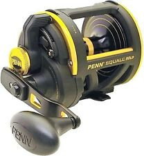 Penn Squall SQL50LD Saltwater Lever Drag Big Game Fishing Reel, NEW