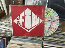 """EXTREMELY RARE LED ZEPPELIN JIMMY PAGE """"THE FIRM"""" 1984 TOUR 2 LP SPATTERED WAX"""