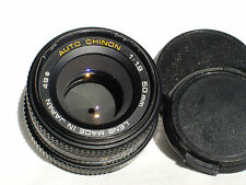 AUTO CHINON 50mm F1.9 lens for PENTAX PK , K mount cameras SN 904810