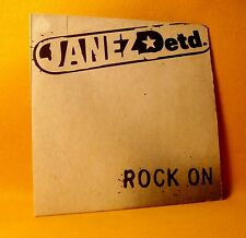 Cardsleeve Single CD Janez Detd. Rock On / G Wee 2TR 1999 Garage Rock, Punk