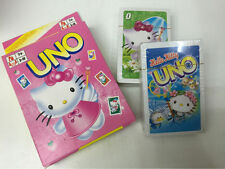UNO playing cards with characters HELLO KITTY