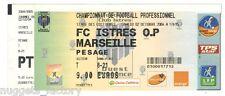 Billet / Place Olympique de Marseille - Istre vs OM - 2004 ( 057 )