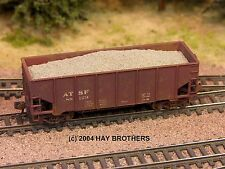 Hay Brothers - BALLAST / GRAVEL LOAD (3-pack) - fits Micro-Trains 33ft Hoppers