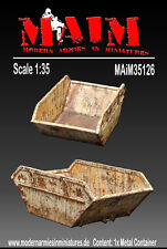 Construction waste container / Skip 1/35 Scale scenic accessory