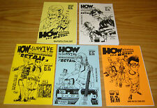 How To Survive Working in Retail #1-5 VF/NM complete set - ashcan comics 2 3 4