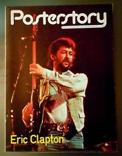 ERIC CLAPTON  PosterStory  n.6 1979  ITALIAN POSTER MAGAZINE
