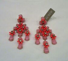 J.Crew FLORAL CASCADE EARRINGS ~ F6452 ~*~ Sold Out ~*~ Pink~NWT
