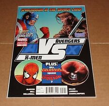 AVX Vs #2 Steve McNiven Fight Poster Variant Edition 1st Print Avengers X-Men